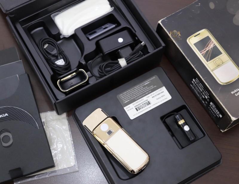 Nokia 8800 Gold Arte Fpt Full Box Like New 2