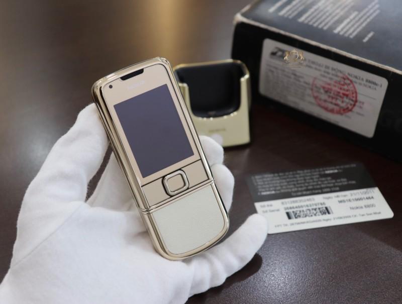 Nokia 8800 Gold Arte Fpt Full Box Like New 5