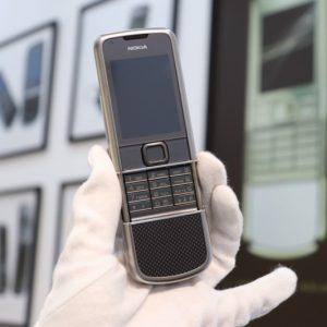 Nokia 8800e Carbon Arte Full Box Like New 3