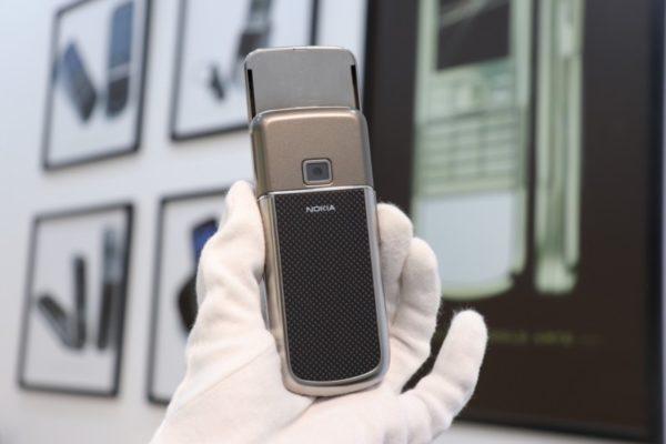 Nokia 8800e Carbon Arte Full Box Like New 6