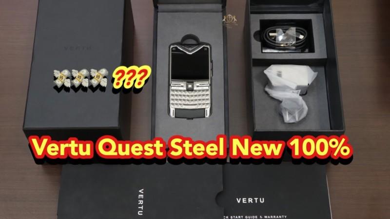 2 Cay Vertu Quest Thep New 100 Full Box Gia Tot Giao Luu Mua Dich Cho Anh Em Nhanh Tay