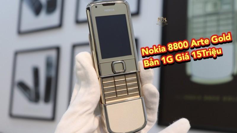 5 Cay 8800e Va Nokia 8800a Gold Zin Ban 1g Chi Tren Duoi 15 Trieu