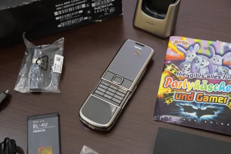 Nokia 8800e Carbon Arte Full Box Like New 99 3