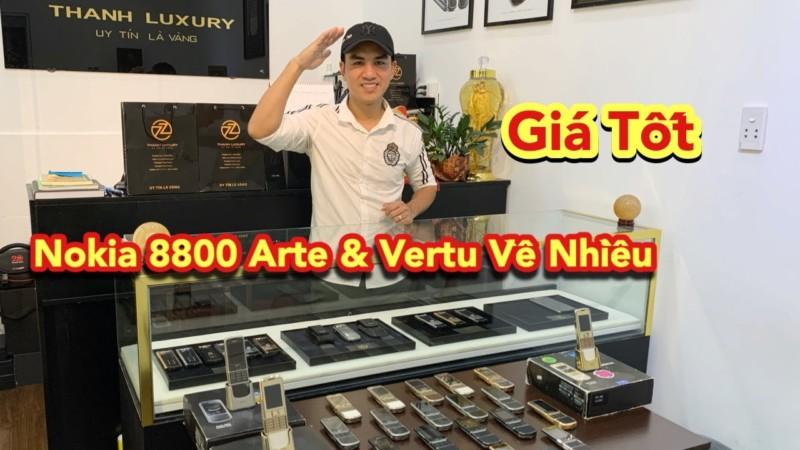 Rat Nhieu Nokia 8800 Arte Va Vertu Gia Tot Cho Anh Em Lua Chon