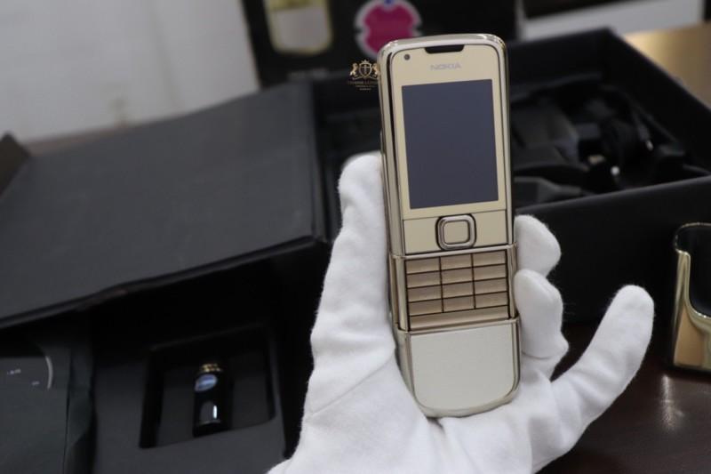 Nokia 8800e Gold Arte Full Box Zin Like New 98 3