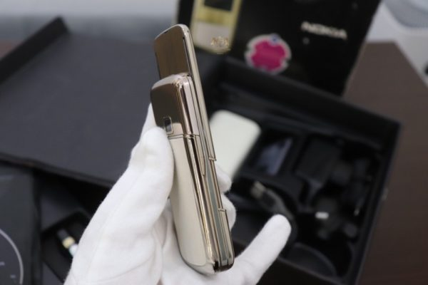 Nokia 8800e Gold Arte Full Box Zin Like New 98 5