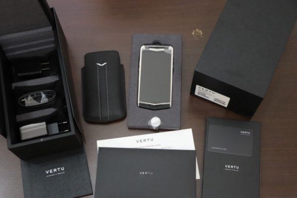 Vertu Aster P Baroque Black Calf Zin New 100 Full Box