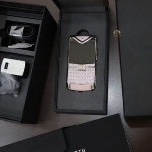 Vertu Quest Pink Full Box Nguyen Zin Chinh Hang New 100
