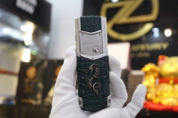 Vertu Signature S Pure Silver Zin Dragon 2