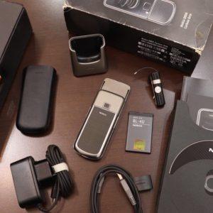 Nokia 8800e Carbon Arte Full Box New 99 2
