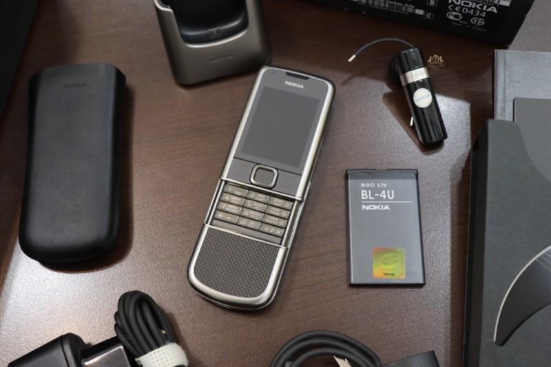 Nokia 8800e Carbon Arte Full Box New 99 3