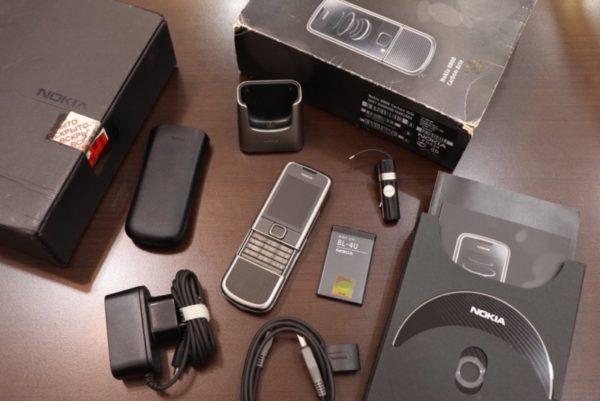 Nokia 8800e Carbon Arte Full Box New 99
