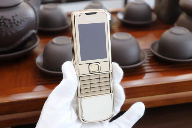 Nokia 8800e Gold Full Box Like New 2