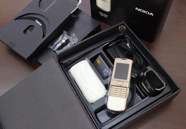 Nokia 8800e Gold Full Box Like New