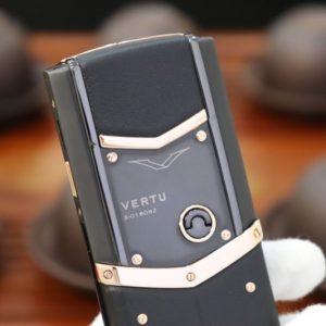 Vertu Signature S Pure Black Mix Gold 4