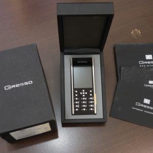 Gresso Azimuth A1 Titanium 18k Logo Titanium Case