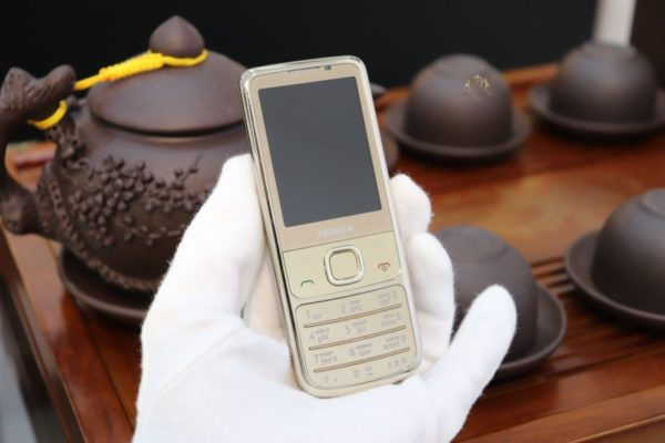 Nokia 6700 Gold Hang Russia New 98