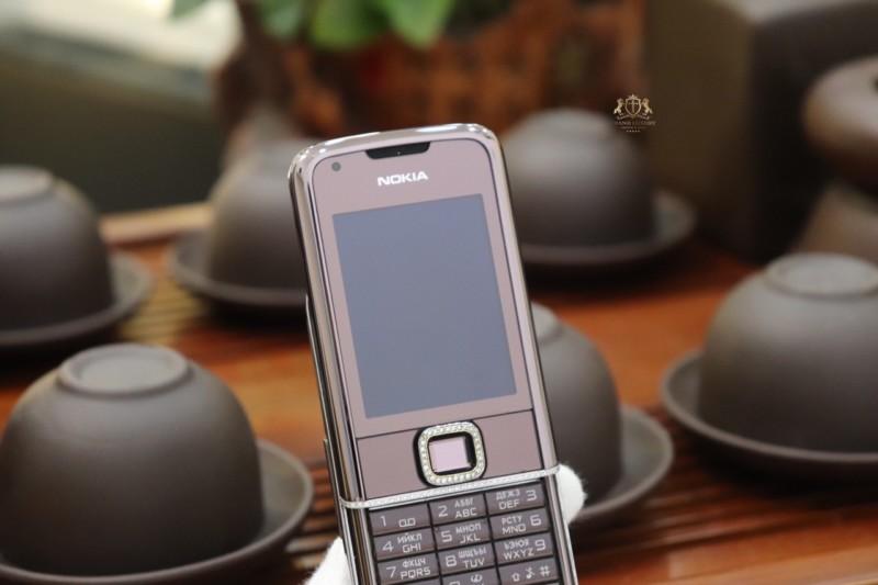 Nokia 8800e Saphire Brown Zin Full Diamond 6