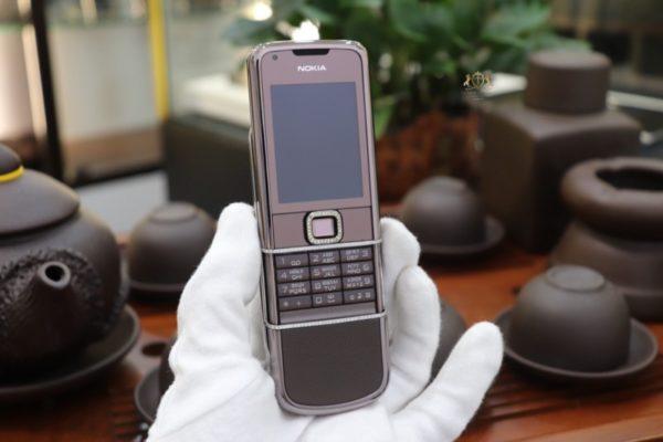 Nokia 8800e Saphire Brown Zin Full Diamond
