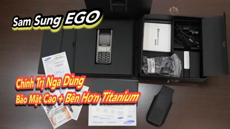 Sam Sung Ego S9402 Full Box New 98 Cuc Hiem Bao Mat Cao Va Do Ben Hon Ca Titanium