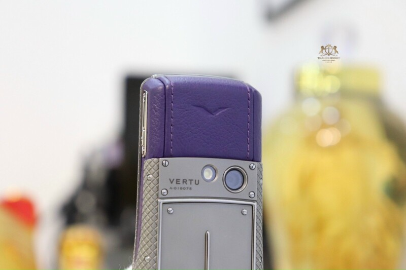 Vertu Ascent Ti Titanium Purple Like New 8