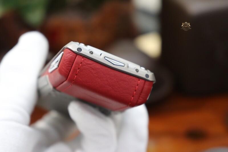 Vertu Ascent X Titanium Red Like New 11