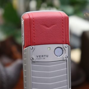 Vertu Ascent X Titanium Red Like New 5