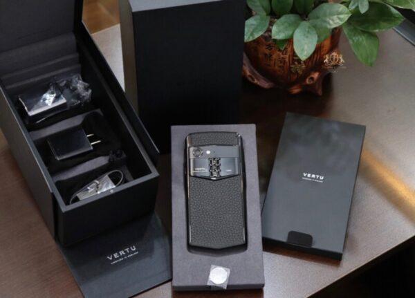 Vertu Aster P Baroque Black Calf Zin Chinh Hang New 100 Full Box 2