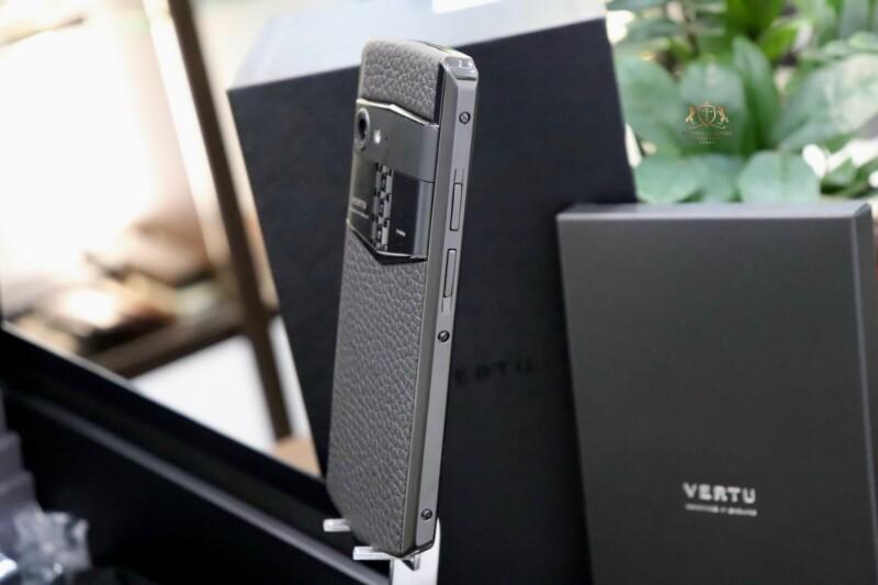 Vertu Aster P Baroque Black Calf Zin Chinh Hang New 100 Full Box 6