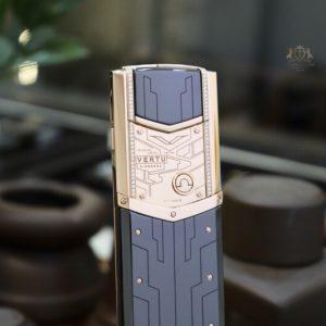 Vertu Signature S Designer Rose Gold Mix Diamonds 6
