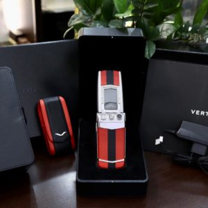 Vertu Constellation Ayxta Turismo Red Black Full Box New 99 2