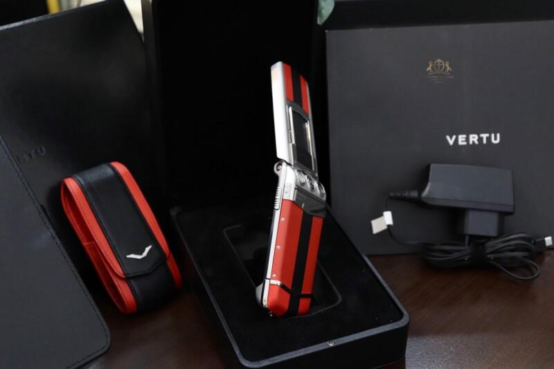 Vertu Constellation Ayxta Turismo Red Black Full Box New 99 3