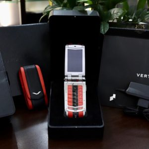 Vertu Constellation Ayxta Turismo Red Black Full Box New 99