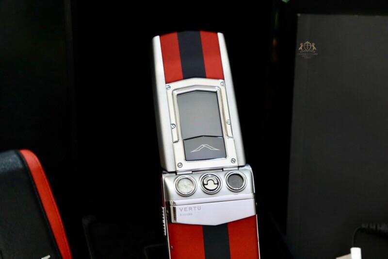 Vertu Constellation Ayxta Turismo Red Black Full Box New 99 6