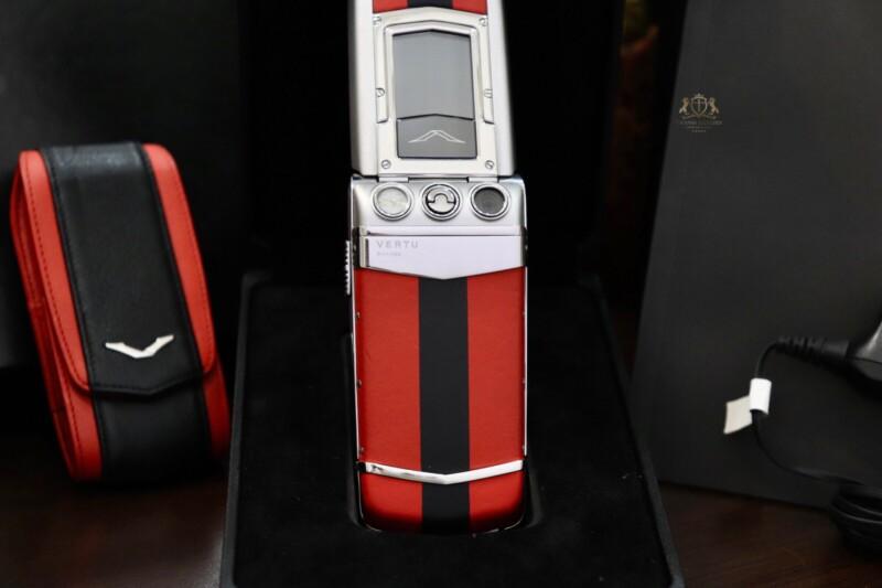Vertu Constellation Ayxta Turismo Red Black Full Box New 99 7