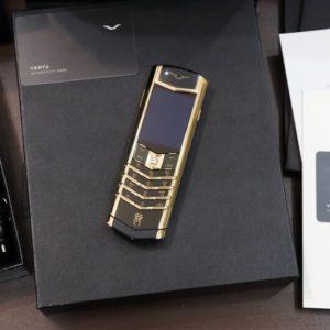 Vertu Signature S Dragon Yellow Gold Diamond Full Box