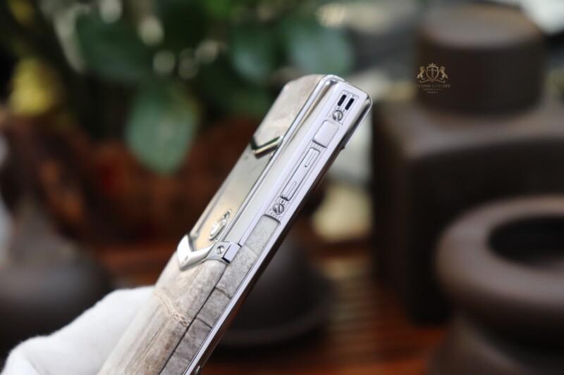 Vertu Signature S Steel White Mother Of Pearl 9