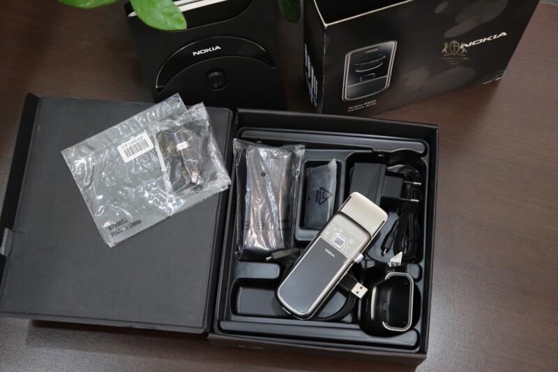 Nokia 8800e Carbon Arte Full Box New 100 Chua Su Dung 2