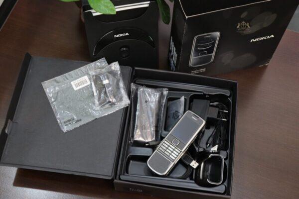 Nokia 8800e Carbon Arte Full Box New 100 Chua Su Dung