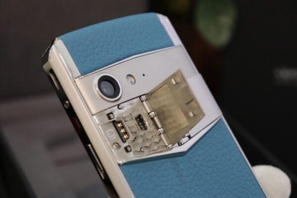 Vertu Aster P Blue Full Box Like New 10