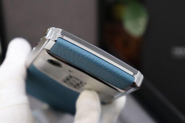 Vertu Aster P Blue Full Box Like New 11