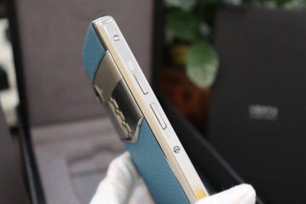 Vertu Aster P Blue Full Box Like New 6