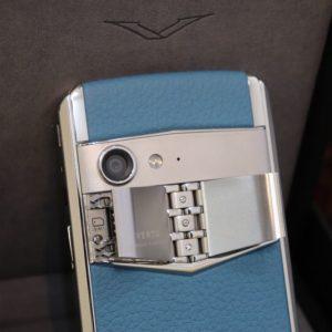 Vertu Aster P Blue Full Box Like New 9