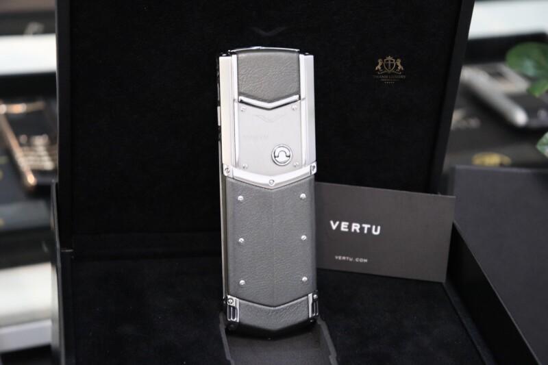 Vertu Signature S Pure Silver Full Box Like New 2