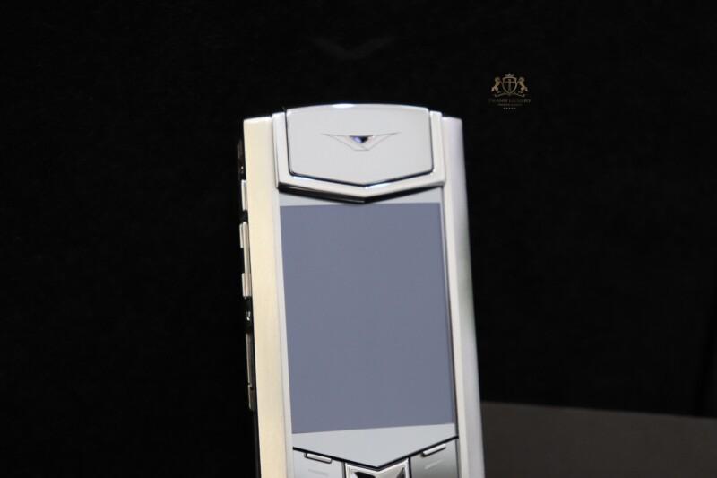 Vertu Signature S Pure Silver Full Box Like New 3