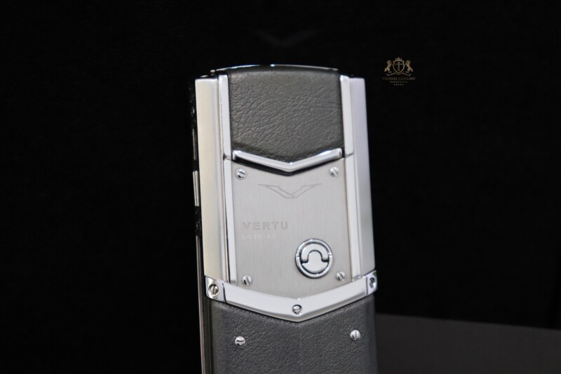 Vertu Signature S Pure Silver Full Box Like New 5