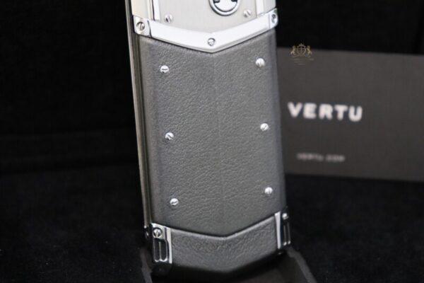 Vertu Signature S Pure Silver Full Box Like New 6