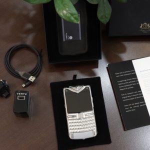 Vertu Constellation Quest Silver Full Box New 100