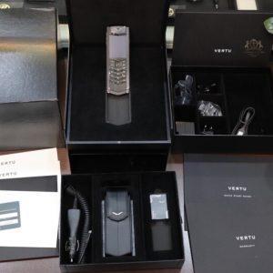 Vertu Signature S Cloud De Paris Black Full Box Dep Keng