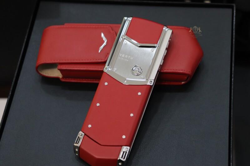 Vertu Signature S Red Calf Nhu Moi Full Box 3